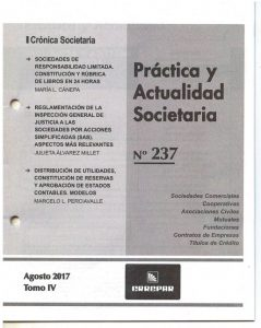 Practica y Act societaria
